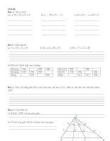 Tài liệu Bài toán dành cho đội tuyển lớp 2