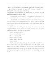 THỰC TRẠNG KẾ TOÁN DOANH THU - CHI PHÍ - XÁC ĐỊNH KẾT QUẢ KINH DOANH DỊCH VỤ VIỄN THÔNG TẠI EVNTELECOM