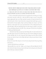 HƯỚNG HOÀN THIỆN KẾ TOÁN TIÊU THỤ HÀNG HOÁ VÀ KẾT QUẢ HĐSXKD TẠI CÔNG TY CỔ PHẦN TẬP ĐOÀN PHÚ THÁI