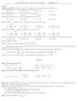 Bài giảng đề thi toán 8 HKII