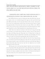 MỘT SỐ GIẢI PHÁP NHẰM HOÀN THIỆN NGHIỆP VỤ KẾ TOÁN CHO VAY TẠI CHI NHÁNH NGÂN HÀNG CÔNG THƯƠNG ĐỐNG ĐA-HÀ NỘI.