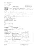 Bài giảng ĐẠI SỐ 8 TUẦN 15 ĐẾN TUẦN 19