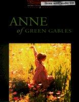 Anne of green gables bộ sách tiếng anh dùng để học từ vựng