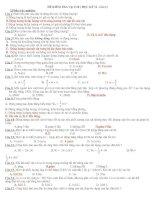 Bài giảng Đề ktra vật lí 10-bài 1 hk2 2010 hay!