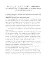NHỮNG VẤN ĐỀ CHUNG VỀ KẾ TOÁN TẬP HỢP CHI PHÍ SẢN XUẤT VÀ TÍNH GIÁ THÀNH SẢN PHẨM TRONG DOANH NGHIỆP XÂY DỰNG CƠ BẢN