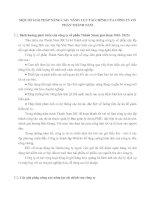 MỘT SỐ GIẢI PHÁP NÂNG CAO  NĂNG LỰC TÀI CHÍNH CỦA CÔNG TY CỔ PHẦN THÀNH NAM