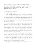 MỘT SỐ Ý KIẾN ĐÁNH GIÁ ĐỀ XUẤT VỀ KẾ TOÁN TIỀN LƯƠNG VÀ CÁC KHOẢN TRÍCH THEO LƯƠNG Ở CÔNG TY TNHH XÂY DỰNG TƯ VẤN KHẢO SÁT THIẾT KẾ VÀ THƯƠNG MAI VIỆT LINH