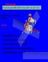 Bài soạn Dựng tam giác bằng lập trình mô phỏng