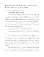 THỰC TRẠNG KẾ TOÁN CHI PHÍ SẢN XUẤT VÀ TÍNH GIÁ THÀNH SẢN PHẨM Ở XÍ NGHIỆP XÂY DỰNG   BINH ĐOÀN 11
