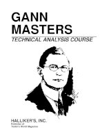 Gann Masters Technical Analysis Course