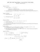 Bài soạn de thi đh 117