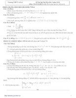 Bài giảng LT cấp tốc Toán 2010 số 2