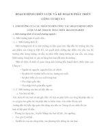 HOẠCH ĐỊNH CHIẾN LƯỢC VÀ KẾ HOẠCH PHÁT TRIỂN CÔNG TY DỆT 8-3