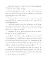 CÁC BIỆN PHÁP HOÀN THIỆN CÔNG TÁC CUNG ỨNG, DỰ TRỮ VÀ SỬ DỤNG VẬT TƯ  Cao Su Sao Vàng