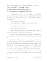 HOÀN THIỆN CÔNG TÁC KẾ TOÁN NGUYÊN VẬT LIỆU TẠI CÔNG TY CỔ PHẦN XÂY LẮP HẠ LONG II