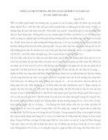 Bài soạn Nhân vật Thị Nở trong truyện ngắn Chí Phèo của Nam Cao - Từ góc nhìn văn hóa