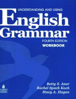 Azar b s , hagen s a    understanding and using english grammar  workbook   2009