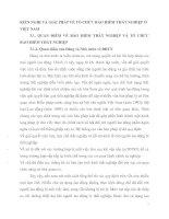 KIẾN NGHỊ VÀ GIẢI PHÁP VỀ TỔ CHỨC BẢO HIỂM THẤT NGHIỆP Ở VIỆT NAM