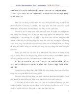 MỘT SỐ GIẢI PHÁP NHẰM HOÀN THIỆN CƠ CHẾ HUY ĐỘNG VỐN THÔNG QUA PHÁT HÀNH TRÁI PHIẾU CHÍNH PHỦ Ở KHO BẠC NHÀ NƯỚC HÀ TÂY