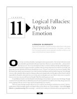 Logical Fallacies - Appeals to Emotion