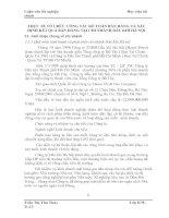 THỰC TẾ TỔ CHỨC CÔNG TÁC KẾ TOÁN BÁN HÀNG VÀ XÁC ĐỊNH KẾT QUẢ BÁN HÀNG TẠI CHI NHÁNH DẦU KHÍ HÀ NỘI