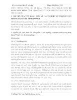 THỰC TRẠNG CÔNG TÁC KẾ TOÁN  PHƯƠNG PHÁP HẠCH TOÁN KẾ TOÁN VỐN BẰNG TIỀN TẠI CÔNG TY TNHH THƯƠNG MẠI DỊCH VỤ TRUNG MINH