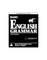 Betty azar   basic english grammar 3rd ed