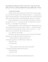 ĐẶC ĐIỂM SẢN PHẨM, TỔ CHỨC SẢN XUẤT VÀ QUẢN LÝ CHI               PHÍ TẠI CÔNG TY TRÁCH NHIỆM HỮU HẠN THIÊN PHÚ CƯỜNG