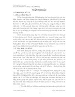 THIẾT KẾ BÀU TẬP TRẮC NGHIỆM KHÁCH QUAN HÓA HỌC 12 CƠ BẢN VÀ NÂNG CAO