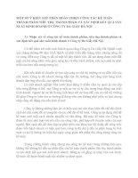 MỘT SỐ Ý KIẾN GÓP PHẦN HOÀN THIỆN CÔNG TÁC KẾ TOÁN THÀNH PHẨM TIÊU THỤ THÀNH PHẨM VÀ XÁC ĐỊNH KẾT QUẢ SẢN XUẤT KINH DOANH Ở CÔNG TY DA GIẦY HÀ NỘI