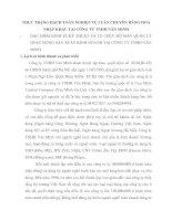 THỰC TRẠNG HẠCH TOÁN NGHIỆP VỤ LUÂN CHUYỂN HÀNG HOÁ NHẬP KHẨU TẠI CÔNG TY TNHH VĂN MINH