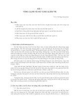 Kế toán quản trị - Bài 1