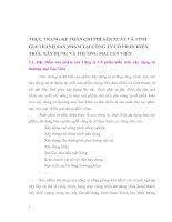 THỰC TRẠNG KẾ TOÁN CHI PHÍ SẢN XUẤT VÀ TÍNH GIÁ THÀNH SẢN PHẨM TẠI CÔNG TY CỔ PHẦN KIẾN TRÚC XÂY DỰNG VÀ THƯƠNG MẠI TẢN VIÊN
