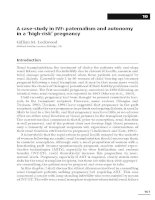 A case-study in IVF - paternalism and autonomy in a 'high-risk' pregnancy