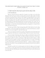 GIẢI PHÁP HOÀN THIỆN CÔNG TÁC QUẢN LÝ THUẾ THU NHẬP CÁ NHÂN Ở NƯỚC TA HIỆN NAY