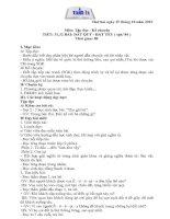 Gián án GIAO AN LOP 3 TUAN 11