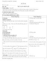 Bài giảng toán 4 tuần 21