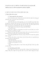 CƠ SỞ LÝ LUẬN VÀ NHỮNG VẤN ĐỀ SƠ BẢN XÂY DỰNG HỆ THỐNG ĐẠI LÝ TRONG KINH DOANH BẢO HIỂM