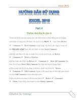 Hướng dẫn sử dụng excel 2010 part 4