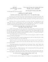 Bài soạn : 03/2000/TTLT-BYT-BGD&ĐTHƯỚNG DẪN THỰC HIỆN CÔNG TÁC Y TẾ TRƯỜNG HỌC