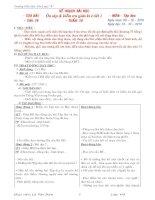 Tài liệu Lớp 5 - Tuần 10
