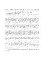 MỘT SỐ í KIẾN NHẰM HOÀN THIỆN CÔNG TÁC KẾ TOÁN TIÊU THỤ THÀNH PHẨM VÀ XÁC ĐỊNH KẾT QUẢ TIÊU THỤ THÀNH PHẨM TẠI CÔNG TY PHÂN LÂN NUNG CHẢY VĂN ĐIỂN