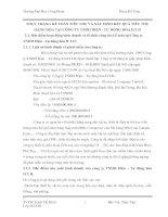 THỰC TRẠNG KẾ TOÁN TIÊU THỤ VÀ XÁC ĐỊNH KẾT QUẢ TIÊU THỤ HÀNG HÓA TẠI CÔNG TY TNHH ĐIỆN - TỰ ĐỘNG HÓA H.T.H