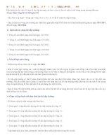 Bài giảng MỘT SỐ VẤN ĐỀ CẦN LƯU Ý ĐỐI VỚI BTC CẤP TRƯỜNG