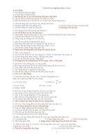 Bài soạn TONG HOP BAI TAP VAT LY 12