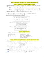 Tài liệu Cong thuc SH theo tung bai rat day du(dau het sinh thai-dang sua chua