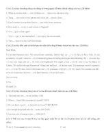 Tài liệu Kiểm tra 1 tiết (TA 7)