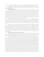 thực trạng chất lượng tín dụng của các NHTM trên địa bàn tỉnh Hà Giang