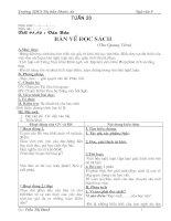 Bài giảng Giáo án ngữ văn 9 kì II