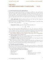 Giáo án kỷ thuật đo lường - Chương 1: CÁC KHÁI NIỆM CƠ BẢN VÀ ĐỊNH NGHĨA